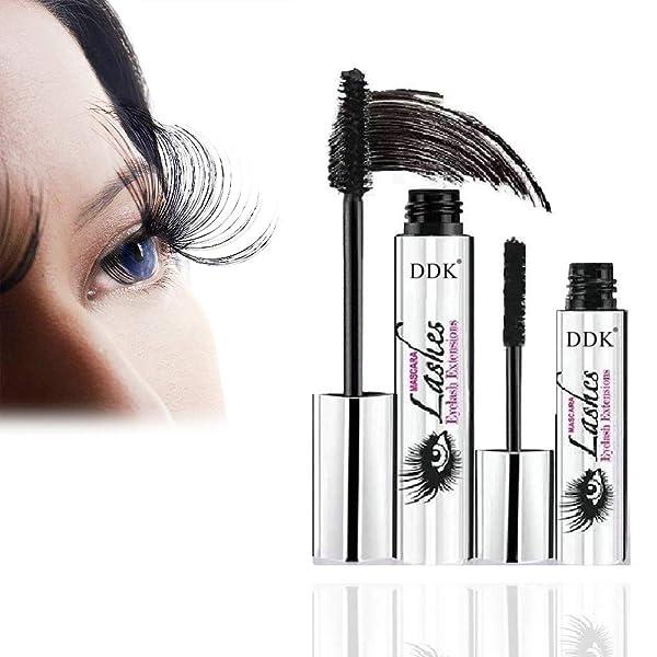 45c7fa475db DDK 4D Silk Fiber Lash Mascara Iconoclast Eyelash Lengthening Cream Make Up  Waterproof Volumizing Original Mascara Set