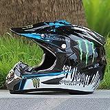 AKASHI(アカシ)マウンテンバイク レーシング オフロードレース ヘルメット ゴーグル付属XLサイズ(58-59CM)