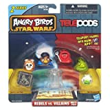 Angry Birds Star Wars Telepods Rebels vs. Villains 6 Pack - Jabba The Hutt, Tusken Raider, Han Solo (In Carbonite), Lando Calrissian, Wicket W. Warrick, Royal Guard