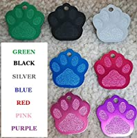Vet Recommended Pet ID Tag Dog and Cat Personalized | Many Shapes and Colors to Choose From! | MADE IN USA, Strong Anodized Aluminum
