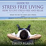 Guide to Stress Free Living: How to Live Stress Free and Relax | David Blaine