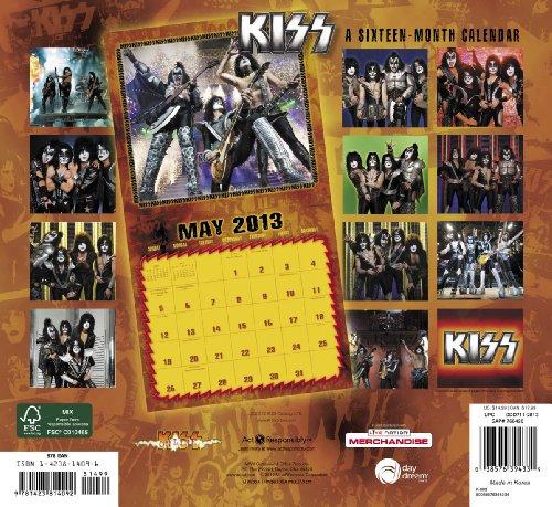 Official Kiss 2013 Square Calendar