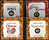 img - for World Cuisine 4 CD-ROM Set: Festive Cooking / Chinese / Japanese / Vegetarian (The Modern Way to Learn to Cook) [Interactive Audio and Video Recipes] book / textbook / text book