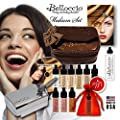 Belloccio Professional Beauty Airbrush Cosmetic Makeup System with 4 Medium Shades of Foundation for Women from Belloccio
