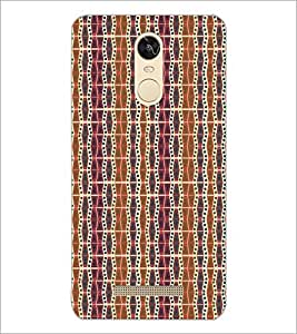 PrintDhaba Pattern D-5211 Back Case Cover for XIAOMI REDMI NOTE 3 (Multi-Coloured)