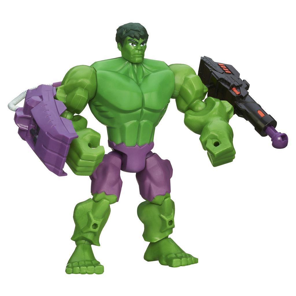 Amazon.com: Marvel Super Hero Mashers Hulk Figure 6 Inches