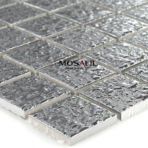 Mosaik fliesen silber sonstige preisvergleiche erfahrungsberichte und kauf bei nextag - Crystal mosaik fliesen ...