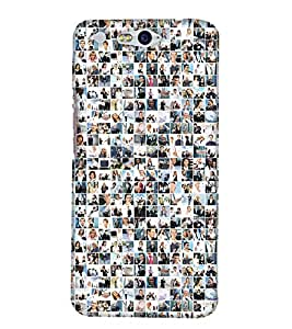 PrintHaat Designer Back Case Cover for InFocus M812 (decorative art :: group of pictures of our daily activities)