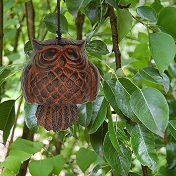 Woodstock Owl Windbell- Habitats Collection