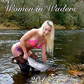 Women in Waders 2014 Wall Calendar