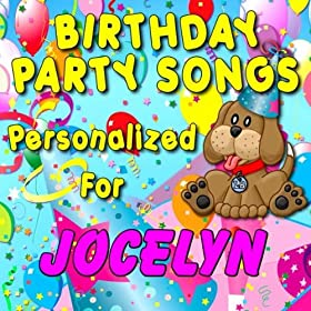 Amazon.com: Happy Birthday to Jocelyn (Jocelin, Josalyn