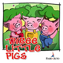 Three little pigs (       UNABRIDGED) by Giacomo Brunoro Narrated by  N.N.