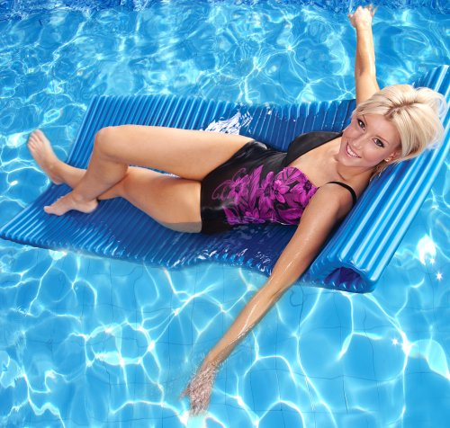 Take Anywhere Float for Swimming Pool or Beach – Blue
