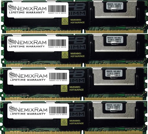 16GB MEMORY FOR  Dell PowerEdge 1950 4GB X4
