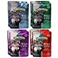 Blue Buffalo Trail Toppers Wild Cuts Variety Pack - 4 Flavors (8 Pouches)