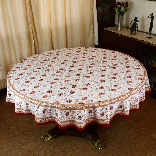 decorazioni per la casa tovaglia rotonda indiano 177 primavera cotone floreale