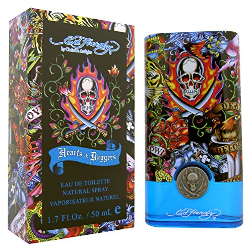Ed Hardy for Menarts and Dagger, Eau de Toilette da uomo, 50 ml