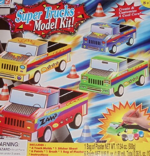 Super Trucks Model Kit - 1