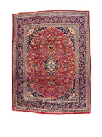 L'Eden del Tappeto Alfombra Mashad Rojo / Azul 321  x  243 cm