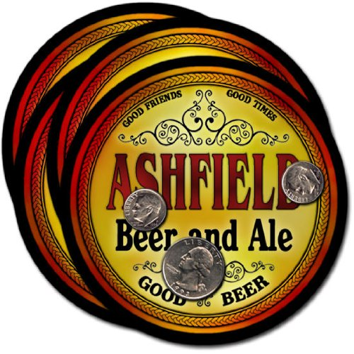 Ashfield, MA Beer & Ale Coasters