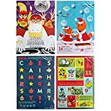 Trader Joe's 24 Chocolate Days Till Christmas Advent Calendar 2016 Bundle Set of 4