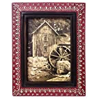 Embosssed Wooden Picture Frame