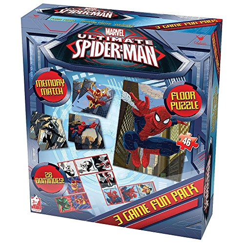 Spiderman Triple Game Pack by Cardinal
