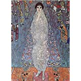 Tallenge Old Masters Collection - Baroness Elizabeth By Gustav Klimt - A3 Size Premium Quality Rolled Poster