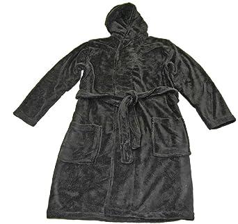 Robe de chambre peignoir femme femme homme velours capuche beach et et spa tr s epais for Peignoir homme capuche