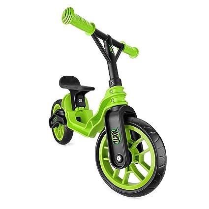 Toyrific Mini Xootz Folding Balance Bike Green (expédiés à partir du Royaume-Uni)