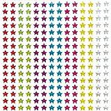Estrellas adhesivas de brillantina con efecto cristal (pack de 280)
