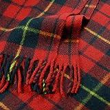 Wallace Tartan Wool Blanket Travel Rug