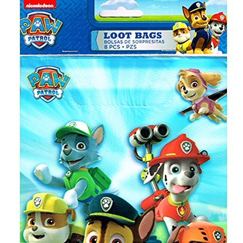 Paw Patrol Favor Bags (8ct)