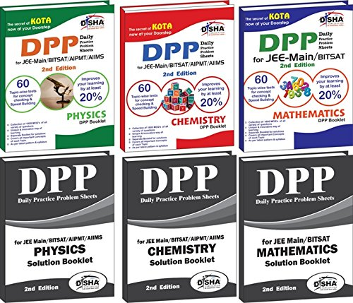 Daily Practice Problem (DPP) Sheets for JEE Main/BITSAT Physics, Chemistry, Mathematics