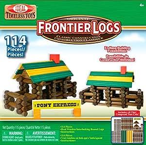 Frontier Slinky Poof Logs bâtiment Set-114pcs.