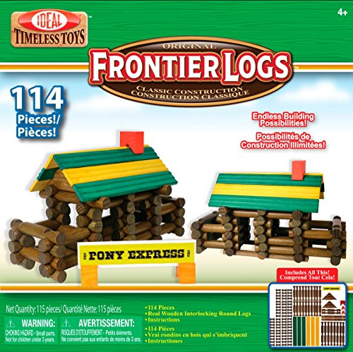 ideal-frontier-logs-114-piece-classic-wood-construction-set