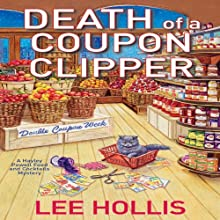 Death of a Coupon Clipper (       UNABRIDGED) by Lee Hollis Narrated by Tara Ochs