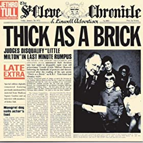 Thick As A Brick (Live At Madison Square Garden)