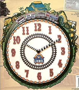Lionel 100th Anniversary Train Clock 1900-2000