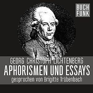 Aphorismen und Essays Hörbuch