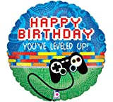 "Game Controller Birthday 18"" Mylar Balloon"