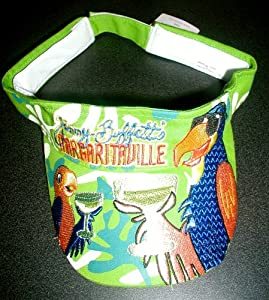 Amazon.com: Jimmy Buffett MARGARITAVILLE Parrot Head Golf VISOR ...