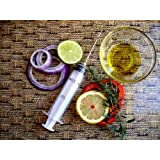 1 X Marinade Injector Flavor Syringe Cooking Meat Poultry Turkey Chicken BBQ Grill Cajun Taste