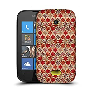 MobileGlaze Designs Anise Star Pattern Star Anise Hard Back Case Cover for NOKIA LUMIA 510