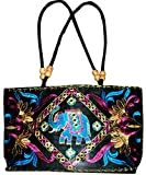 Czds India Women's Black Handbag (BAG-30)