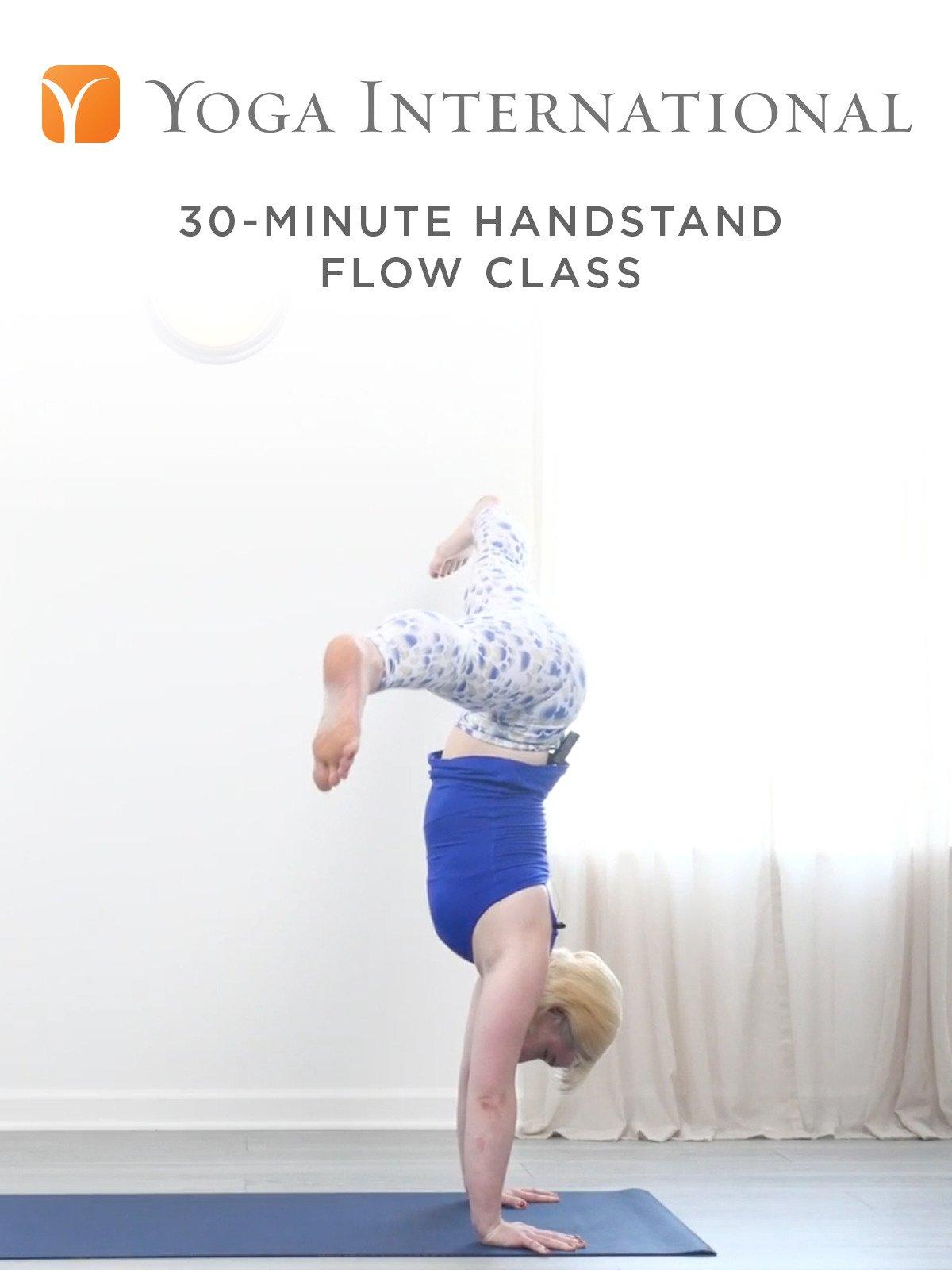 30-Minute Handstand Flow Class