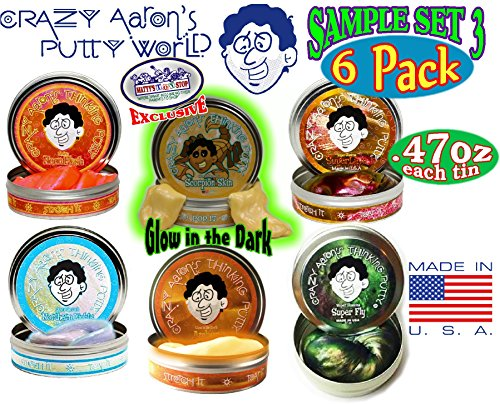crazy-aarons-thinking-putty-mini-tin-gift-set-bundle-sample-set-3-with-super-fly-neon-flash-northern