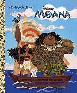 Book Cover: Moana Little Golden Book