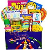 Crafty Kids Art & Activity Snacking Care Package Gift Box
