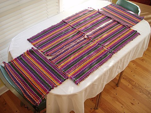 Beautiful Hand-Woven Cloth Placemats (set of 6) - Buy Beautiful Hand-Woven Cloth Placemats (set of 6) - Purchase Beautiful Hand-Woven Cloth Placemats (set of 6) (Just Choice Products, Home & Garden, Categories, Kitchen & Dining, Kitchen & Table Linens, Place Mats, By Style, Casual)